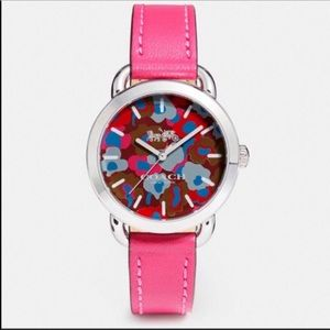 Coach Lex Watch with Printed Dial